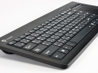 i-rocks RF-6496 無線 2.4GHz電腦鍵盤加觸控板搶先玩