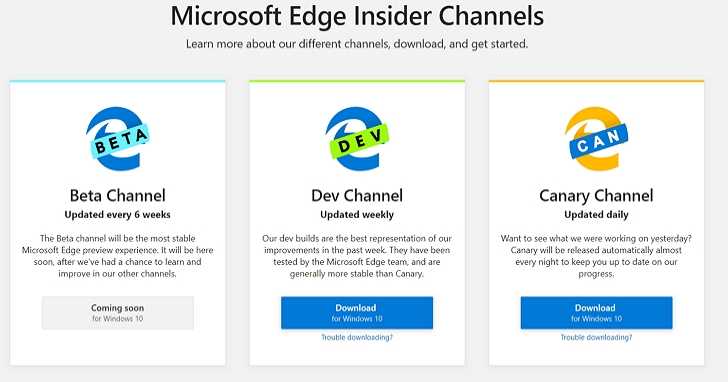 Chromium 版的 Edge 瀏覽器先期測試版下載試玩:與其說是Edge、更像是Chrome?