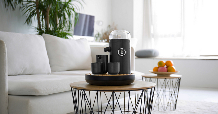 TEAMOSA推出智慧泡茶機,一鍵茶道、3 分鐘搞定好茶