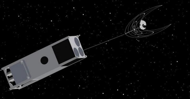 立方體衛星將自主清理太空垃圾,並且成本低廉