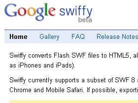 不必學語法!Google 幫你把 Flash 轉成 HTML5
