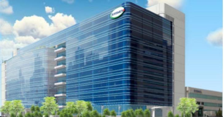美超微宣佈擴大矽谷總部 臺灣80萬平方英呎新大樓破土動工