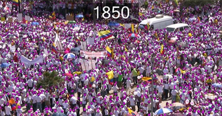 Canon「群眾人流計數」分析軟體,精準偵測人群資料