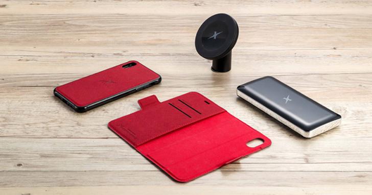 Xcharging 兼具智能磁吸與防電磁波科技的「一殼磁吸五合一」 iPhone 無線充電新利器