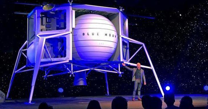 貝索斯發佈Blue Origing.首款大型月球著陸器!「我們將重返月球,並留在上面」