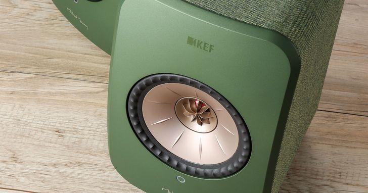 KEF LSX- 流著英國血統的無線音箱