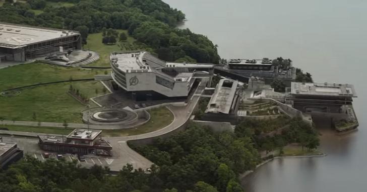 找到了!《復仇者聯盟》總部原來在這裡:用來穿越量子領域場景其實是挖土機倉庫