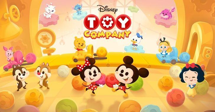 《LINE:Disney Toy Company》手遊正式推出,限時免費貼圖下載中|