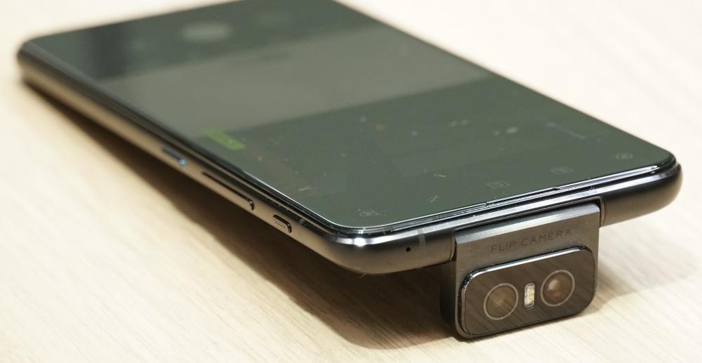 翻轉鏡頭華碩 Zenfone 6 快速動手玩,同場加映 PM 改造透明版機身