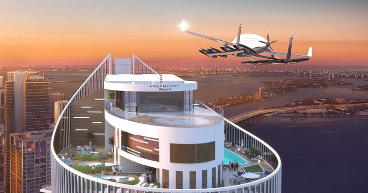 世界首個汽車用「空中港口」正在建造,飛行汽車離我們還有多遠?