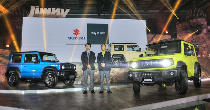 大改款 SUZUKI Jimny 台灣開賣!方正有型售價 74.8 萬元起