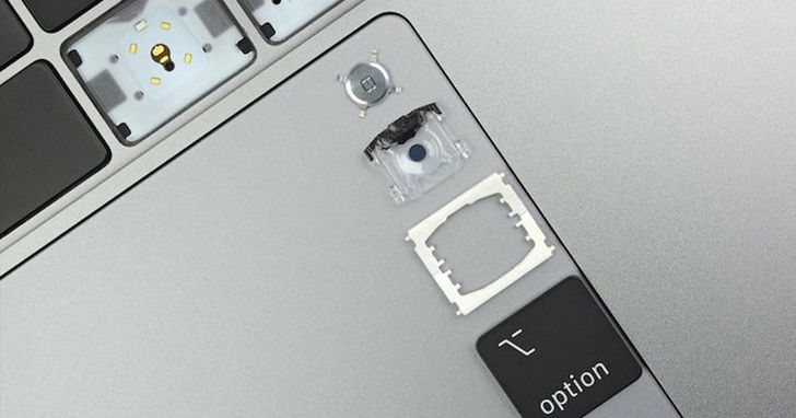 蘋果調整了這兩個細節,給 MacBook Pro 的鍵盤帶來新變化
