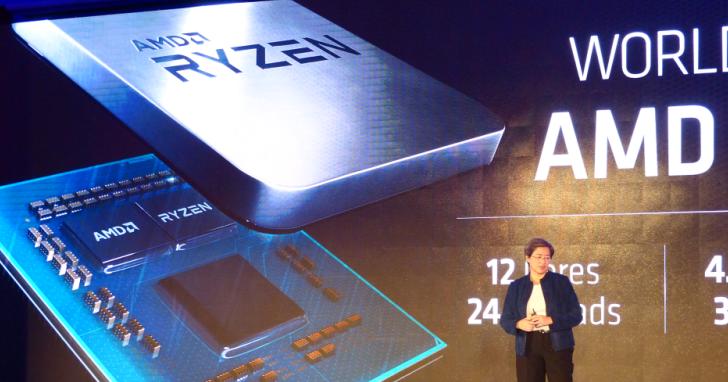 AMD 也撿到外星人!第三代 Ryzen 桌上型處理器 IPC 更高、核心更多、更省電