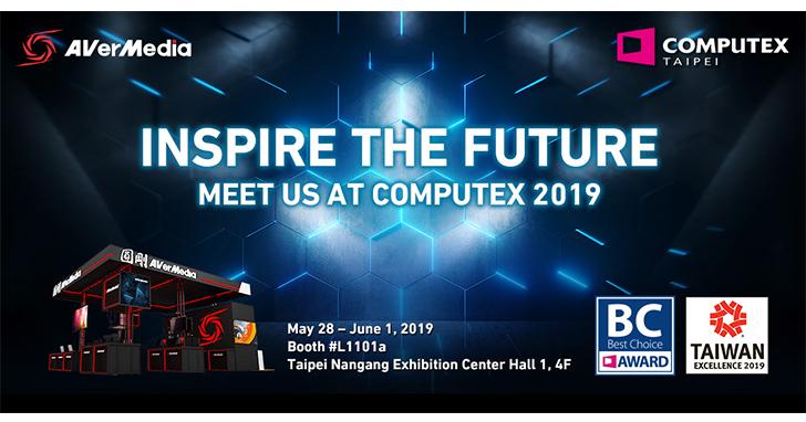 Computex 2019:圓剛科技將於2019台北國際電腦展發表全球第一款4K HDR及240 FPS遊戲擷取外接實況擷取盒與全新人工智慧解決方案
