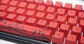 Computex 2019:Ducky豬年特別版鍵盤,當代原民藝術家雷恩揉合排灣族精神
