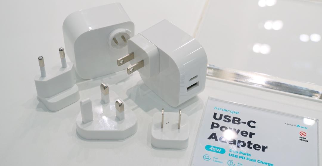 Computex 2019:台達 Innergie 高瓦數 Type-C 充電器再推續作,45W 雙輸出筆電、手機皆可充 | T客邦