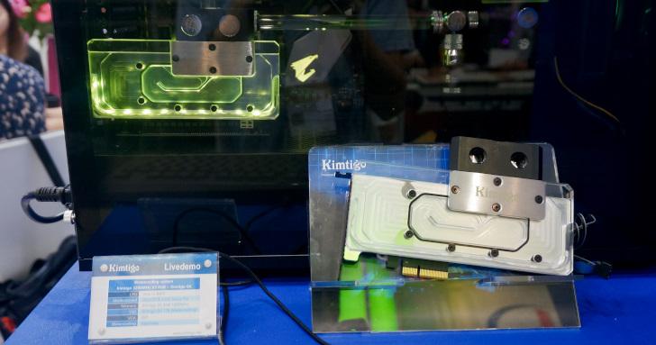 Computex 2019:Kimtigo展出DDR4-4132記憶體,還有固態硬碟水冷套件與超嬌小BGA SSD | T客邦