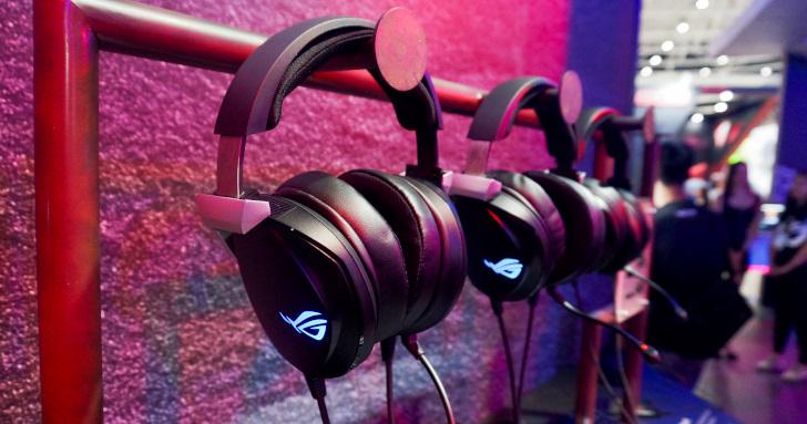 Computex 2019:電競耳機不再閃瞎人,Asus推出Hi-Fi等級駐極式電競耳機與多款耳機產品