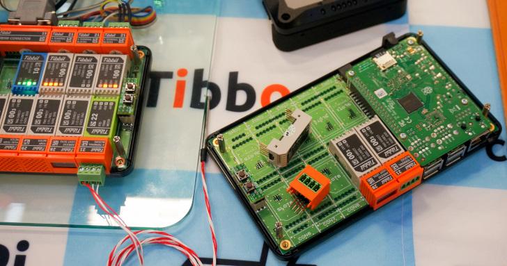 Computex 2019:來自日本的美型Raspberry Pi擴充套件,Tibbo-Pi提供超過50種功能模組