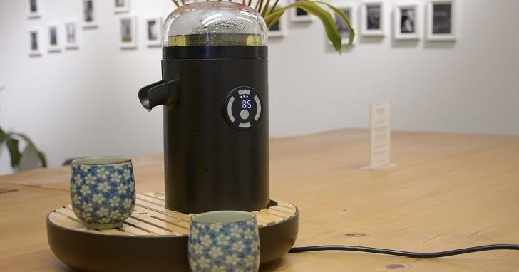 3 分鐘泡杯好茶!TEAMOSA 智慧泡茶機一鍵啟動,全自動控管溫度及時間