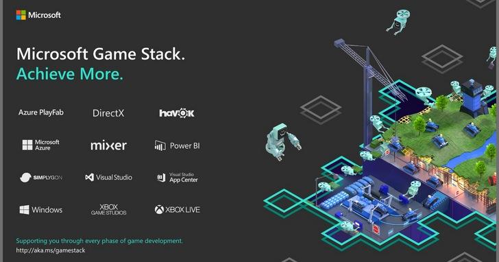 微軟推出Microsoft Game Stack,提供遊戲開發者最完整的開發工具