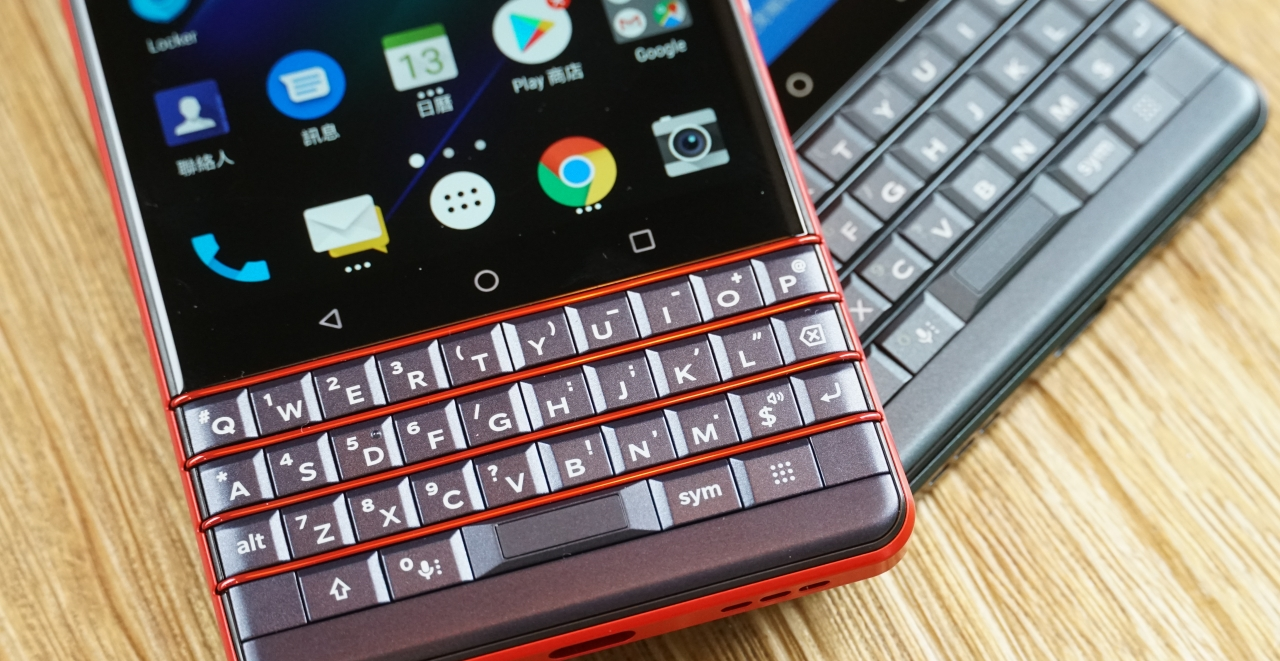 黑莓機 Blackberry KEY2 LE 開箱動手玩,適合英文輸入需求高的人