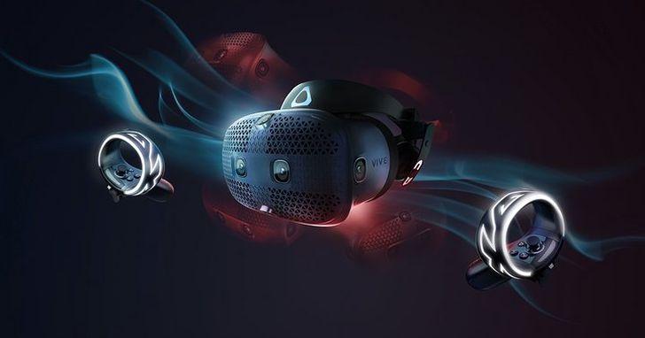 HTC 釋出的新 VIVE VR 眼鏡影片:採用上翻式設計,還有六個鏡頭