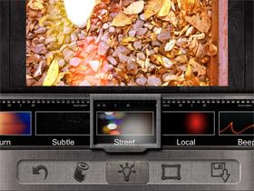 濾鏡、光源特效、邊框,Pixlr-o-matic 讓手機拍出懷舊照片