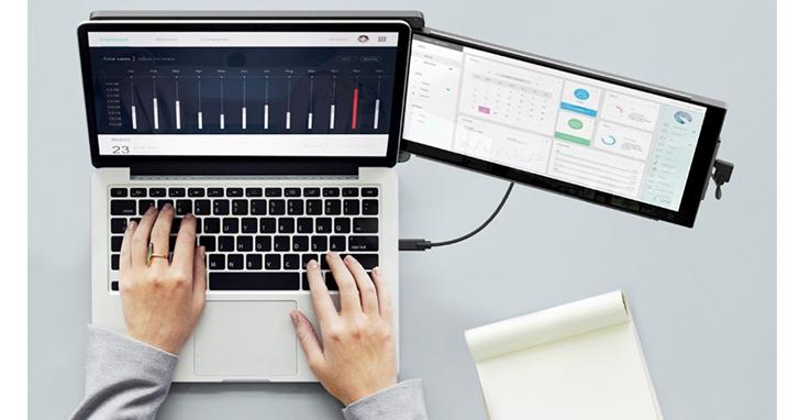 筆電行動辦公室成效有限? 安裝DUEX PRO 外接螢幕效率加倍
