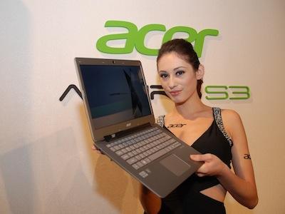 台灣首台 Ultrabook 上市,Acer Aspire S3 正式發表
