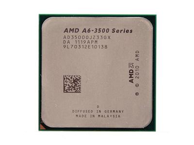 AMD A6-3500 登場:三核心 APU,搭配強大內顯 HD 6530D