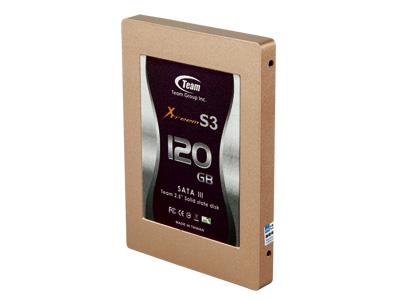Team Xtreem S3 120GB:本土派500MB/s高速固態硬碟