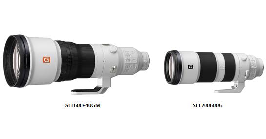 Sony 推出兩款超望遠鏡頭:FE 600mm F4 GM、FE 200-600mm F5.6-6.3 G