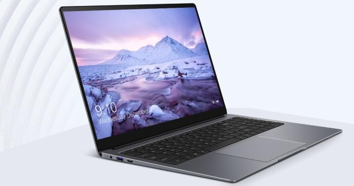 Chuwi LapBook Plus文書機搭4K HDR螢幕,還有2條M.2插槽與數字鍵盤