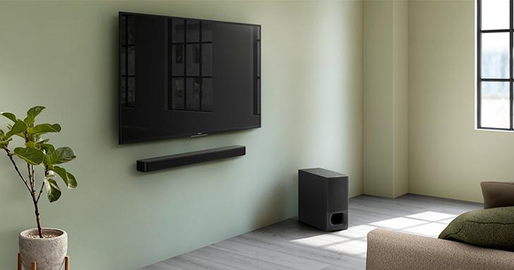 Sony HT-S350 單件式環繞音響推出,無線打造磅礡音場!