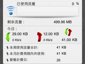 用 iDataSpy 監控 iPhone 上網用量,帳單不會爆表