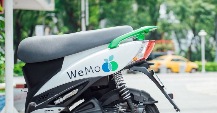 WeMo Scooter公布台北市五大使用熱點,大安區奪冠!