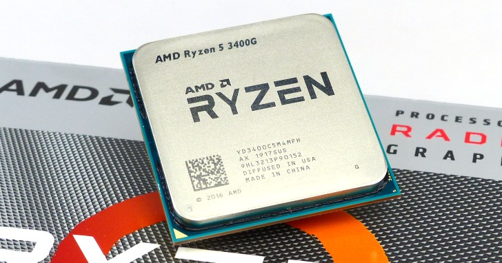 Picasso 再次定義內顯效能高度,AMD 第二代 Ryzen 5 3400G 處理器測試