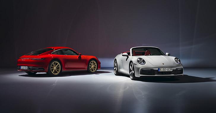 只要 580 萬,Porsche 911 Carrera、911 Carrera Cabriolet 台灣同步開放接單