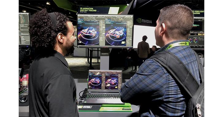 技嘉聯手NVIDIA CG動畫大展推全新創作者筆電AERO 15 OLED
