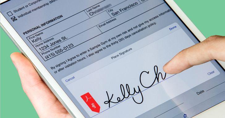 Adobe電子簽名功能首次亮相,協助小型企業邁向數位化