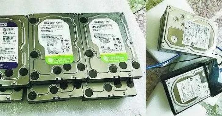 人人影視字幕組賣退役舊硬碟10TB要價台幣一萬五,比新的還要貴,「附贈內容」有玄機