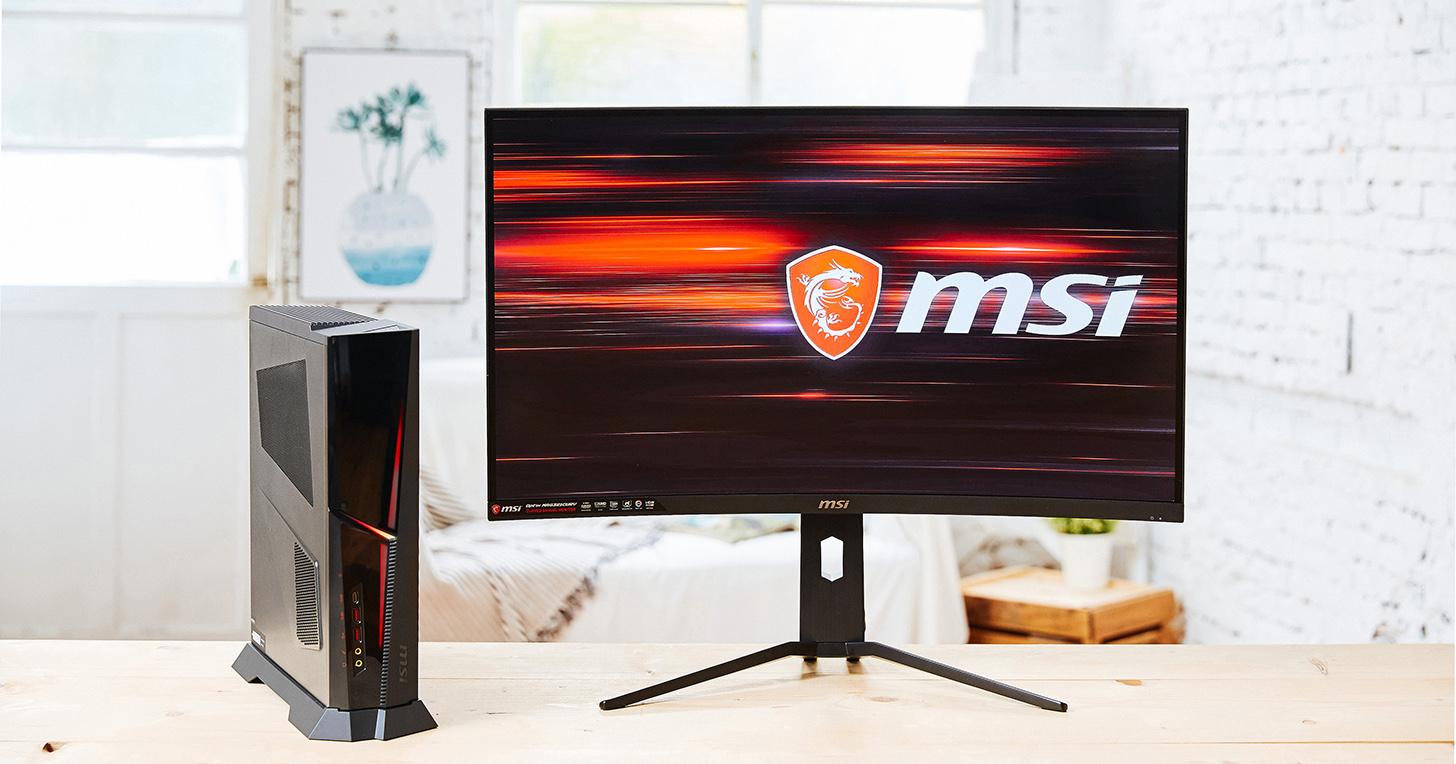 MSI OPTIX MAG321CURV 動手玩:一款讓遊戲臨場感倍增的 4K HDR 曲面電競螢幕