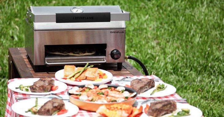 不到台幣六千元的 OvenPlus多功能披薩烤肉爐,烤肉、烤披薩一機搞定