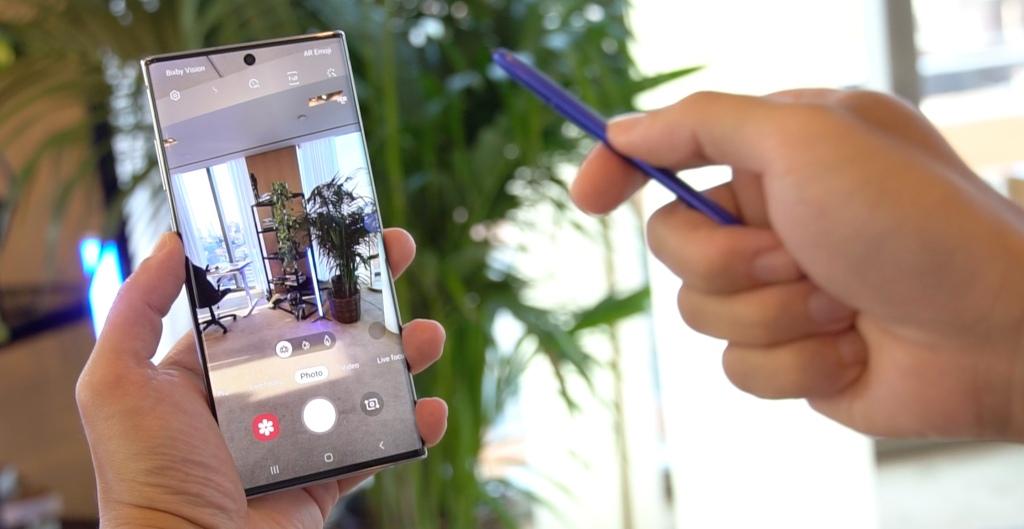 Galaxy Note 10 動手玩:錄影升級!S Pen 遙控拍攝切換、影片編輯更強大
