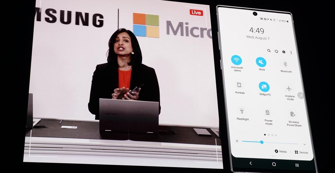 三星和微軟擴大合作,手機可無線串連筆電、S Pen 可操控 Outlook