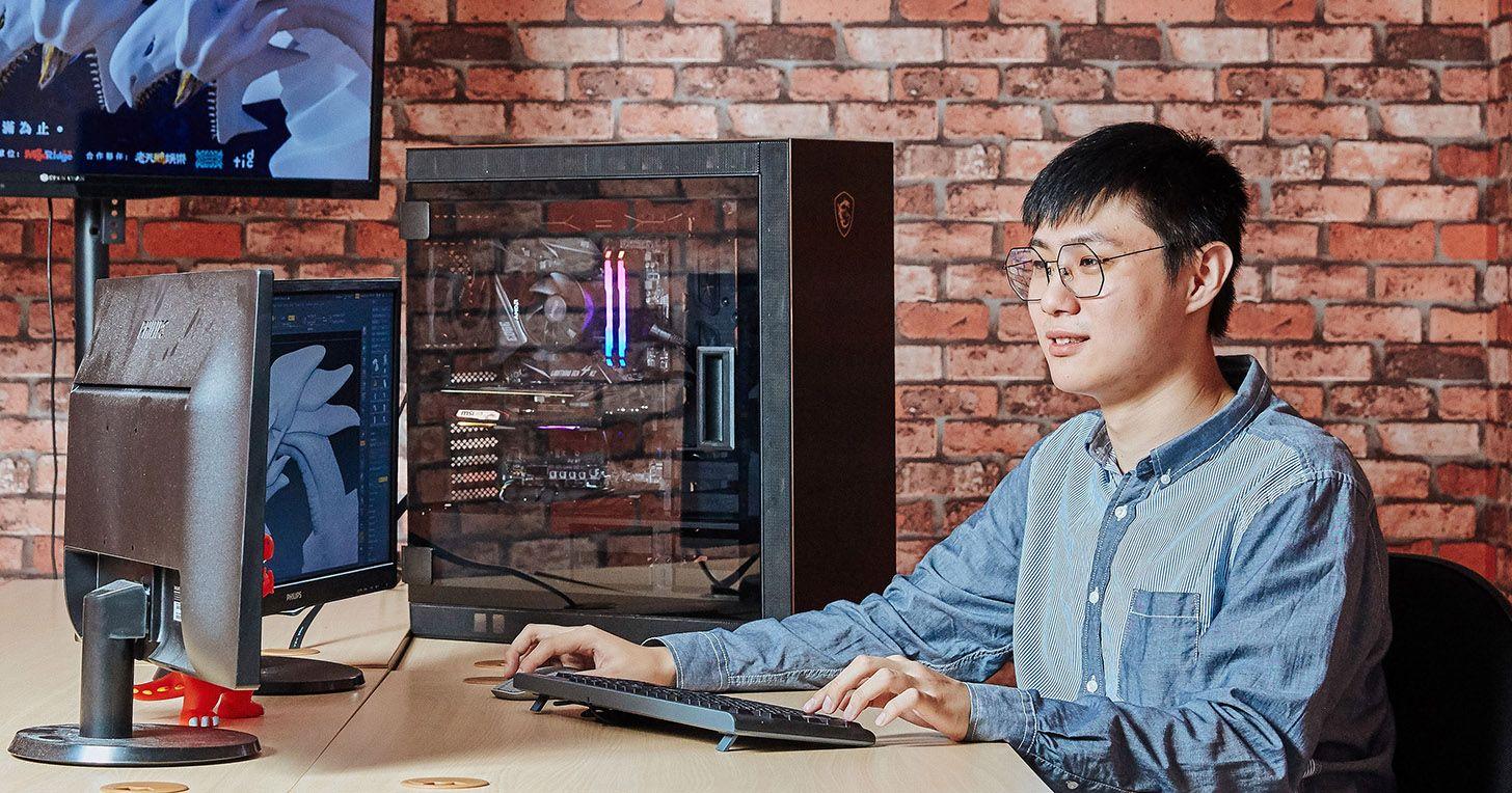 獨家專訪「六都電競爭霸戰」主視覺設計師宋杰:一台好的電競主機該是什麼樣子?