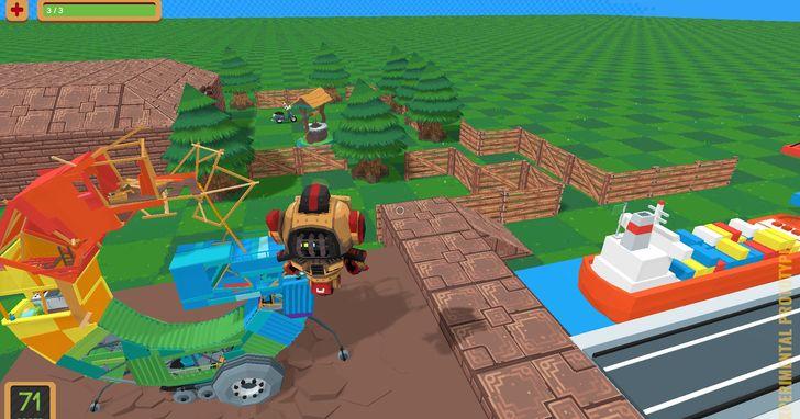 免費3D版的遊戲製作大師,用「Game Builder」打造你的3D遊戲世界