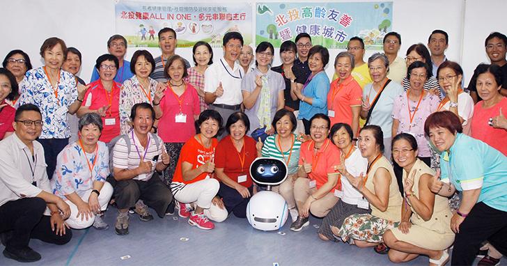 ASUS VivoWatch、Zenbo化身社區關懷大使 助銀髮族朋友建立自我健康管理概念