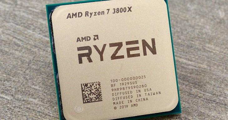 嚴選最高基礎時脈晶粒,AMD 第三代八核心十六執行緒 Ryzen 7 3800X 測試與超頻